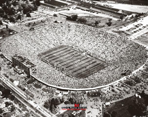 Michigan Wolverines Big House Football Stadium Photo Art Print 8x10 or 11x14 or 40x30 StadiumArt.com Sports Photos
