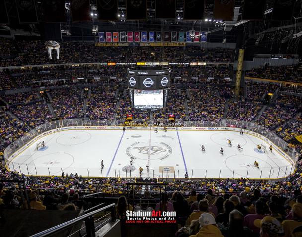 Nashville Predators Bridgestone Arena Hockey Photo Art Print 8x10 or 11x14 or 40x30 StadiumArt.com Sports Photos