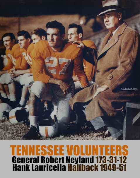 Tennessee Volunteers General Neyland UT Vols NCAA College Football CHOICES