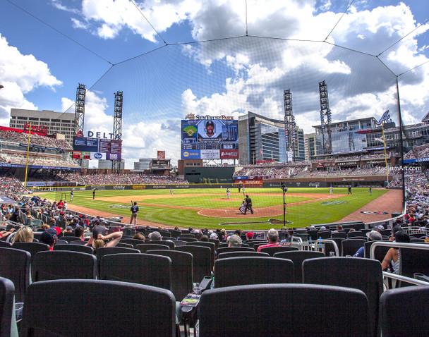 Atlanta Braves SunTrust Park New Baseball Stadium 04 MLB 8x10-48x36 CHOICES