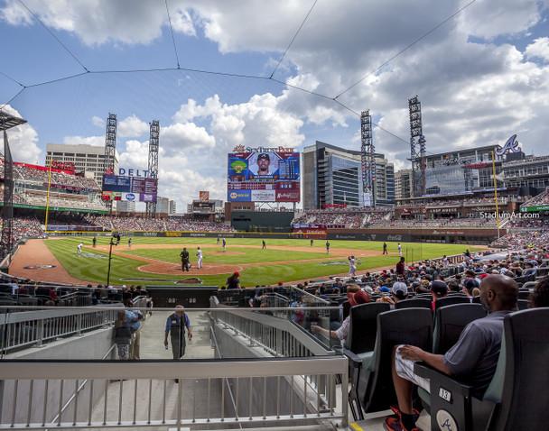 Atlanta Braves SunTrust Park New Baseball Stadium 06 MLB 8x10-48x36 CHOICES