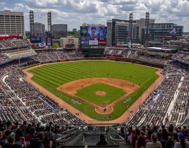 Atlanta Braves SunTrust Park New Baseball Stadium 02b MLB 8x10-48x36 CHOICES
