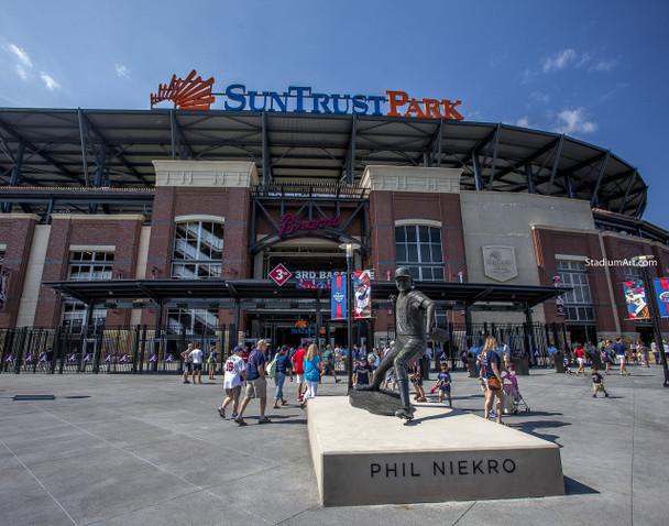 Atlanta Braves SunTrust Park New Baseball Stadium 40 MLB 8x10-48x36 CHOICES