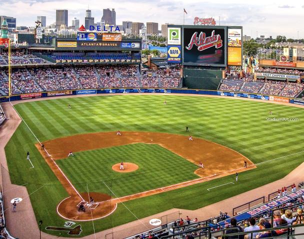 Atlanta Braves Turner Field Baseball Stadium 07 MLB 8x10-48x36 CHOICES
