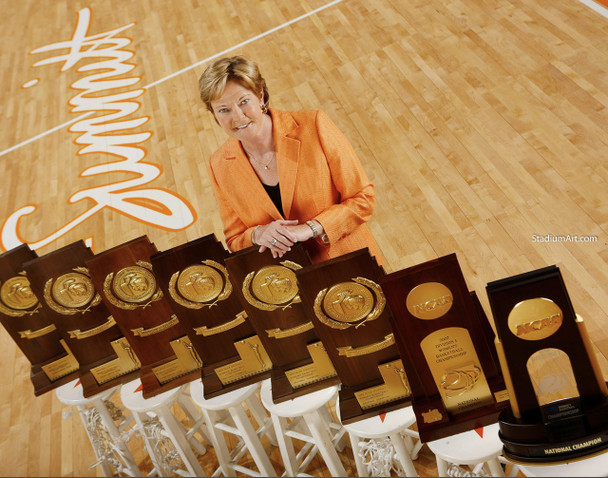 Tennessee Volunteers Women's Basketball Pat Summitt Lady Vols 02 NCAA College Football CHOICES 03 8x10 or 11x14 or 40x30 photo StadiumArt.com Sports Photos