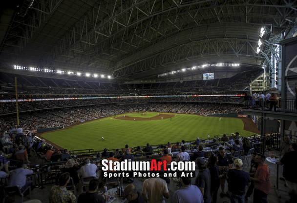 Houston Astros Minute Maid Park MLB Baseball Photo 1320 8x10-48x36