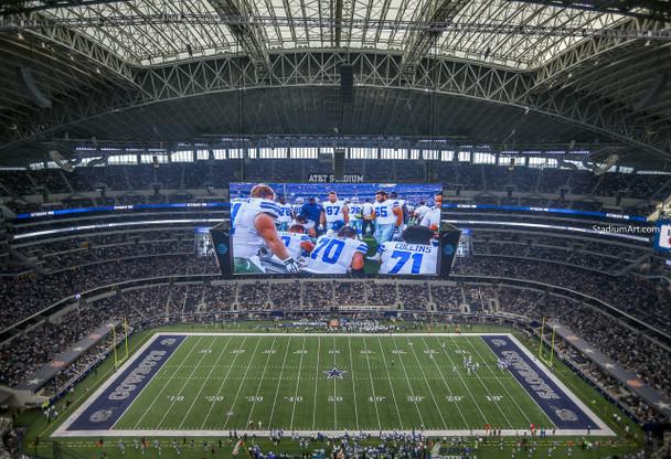 Dallas Cowboys AT&T Stadium 05 NFL Football ATT 8x10-48x36 CHOICES