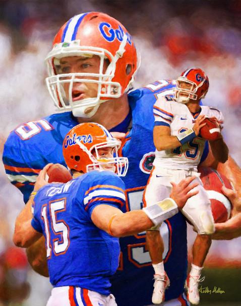 Tim Tebow Florida Gators College Football NCAA QB Quarterback