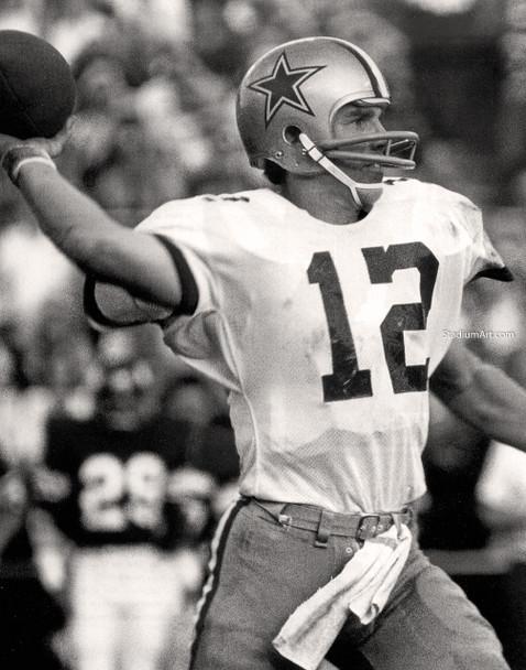 Dallas Cowboys Roger Staubach 50 NFL Football 8x10-48x36 CHOICES