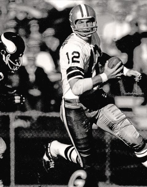 Dallas Cowboys Roger Staubach 53 NFL Football 8x10-48x36 CHOICES