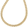 """14K Yellow Gold 4.50mm Italian Twisted Double Rope Link Chain Fancy Necklace 18"""""""