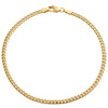 10K Yellow Gold 2.90mm Hollow Miami Cuban Link Lobster Clasp Bracelet 7 - 8 Inch