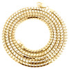 Real 10K Yellow Gold Hollow Round Box Link Chain 3.25mm Necklace 26 - 30 Inches
