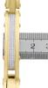 Mens 0.65 ct White Diamond Yellow Stainless Steel Bracelet Bangle Link Arctica