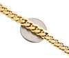 14K Yellow Gold Solid Miami Cuban Link Chain 8mm Box Clasp Necklace 24-28 Inches