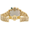 Custom Real Diamond Gucci Watch Ya101331 Mens 101G Yellow Steel PVD 44mm | 9 CT.