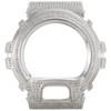 Casio Men's Real White Diamond Custom Watch Case For G-Shock Model DW6900 3 CT.