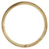 Original Factory 18K Yellow Gold Fluted Rolex Bezel For 26mm DateJust President