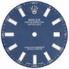 Factory Original Rolex DateJust II 41mm Blue Stick Dial Ref. # 116300 / 116334