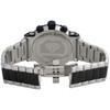 Mens Aqua Master Joe Rodeo Real Diamond Watch Stainless Steel Black PVD 0.20 CT.