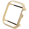 Apple Watch Series 4 Yellow Stainless Steel 44mm Sport Real Diamond Case 1.50 CT