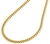 18K Yellow Gold 4.10mm Super Solid Miami Cuban Link Chain Necklace 20 - 24 Inch