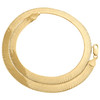 10K Yellow Gold 7.75mm Solid Herringbone Chain High Polished Necklace 16-24 Inch