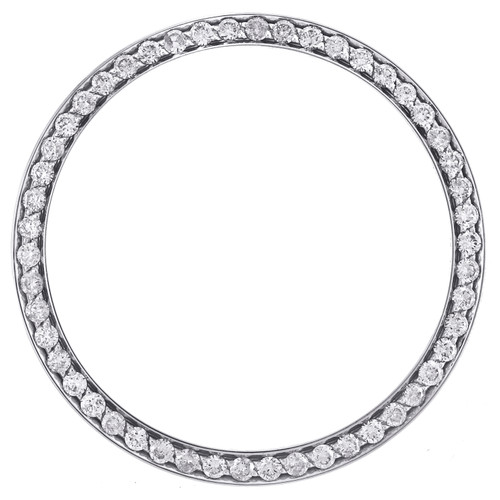 Rolex DateJust 36 Ref. # 116234 Custom Diamond Bezel Fits 36mm Watch 1.50 CT.