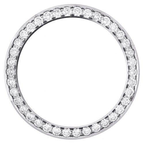 Rolex DateJust 36 Ref. # 116234 Custom Diamond Bezel Fits 36mm Watch 2.75 CT.