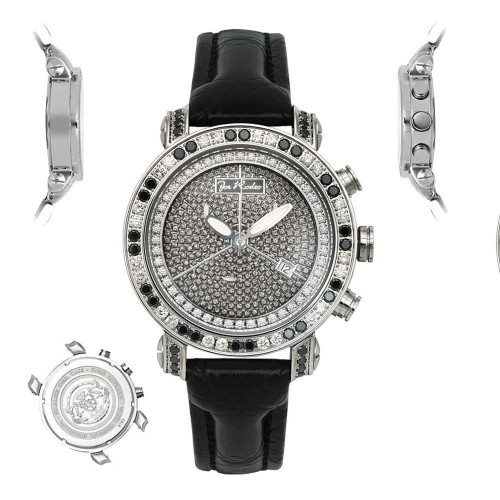 Men's Diamond Watch Joe Rodeo Classic JCL76 3.5 Ct Illusion Dial
