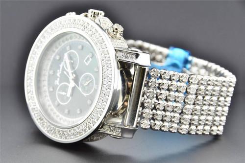 Joe Rodeo Junior JJU 118 Diamond Watch 10.25 CT Gray MOP Dial Custom 6 Row Band
