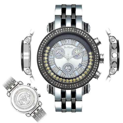 Men's Diamond Watch Joe Rodeo Classic JCL42(Y) 1.75 Ct Illusion Dial