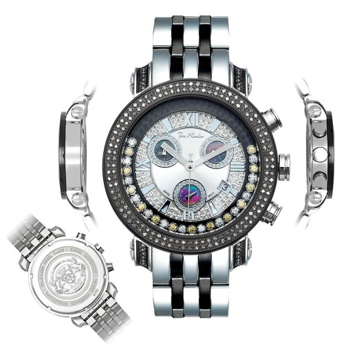 Men's Diamond Watch Joe Rodeo Classic JCL43(WY) 1.75 Ct Illusion Dial