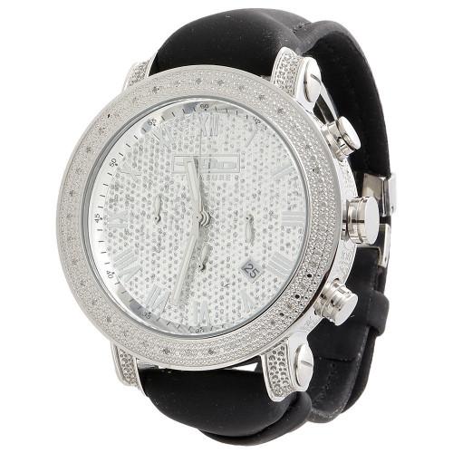 Mens JoJo Treasure JoJino Joe Rodeo 0.36 Ct. Diamond Watch Roman 46mm Dial JTR27
