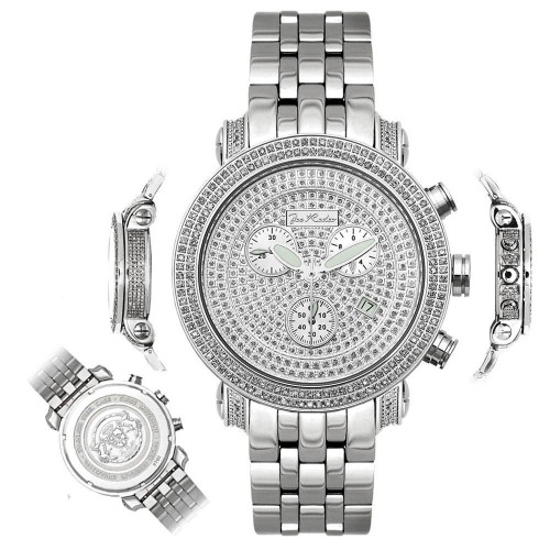 Men's Diamond Watch Joe Rodeo Classic JCL50 3.5 Ct Illusion Dial