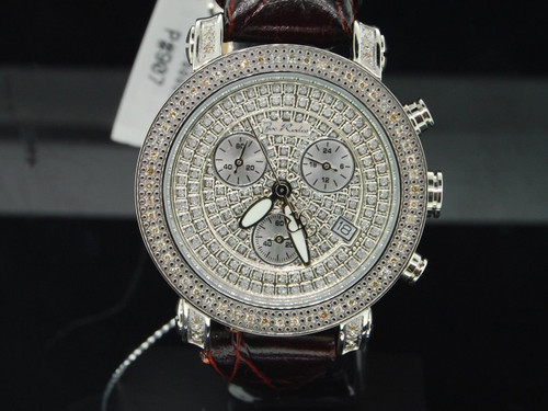 Ladies Joe Rodeo JoJo IceTime Classic Look JPA2 Passion Diamond Watch 0.60 CT.