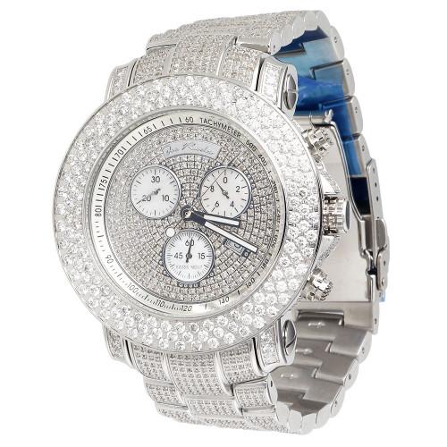 Joe Rodeo Junior JJU37 Diamond Watch 20.50 Ct. Fully Iced Dial Band & Case