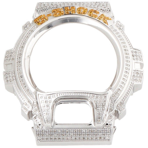 Genuine Diamond Watch Case FOR Casio G Shock Custom Casing 6900 Models 3 Ct.