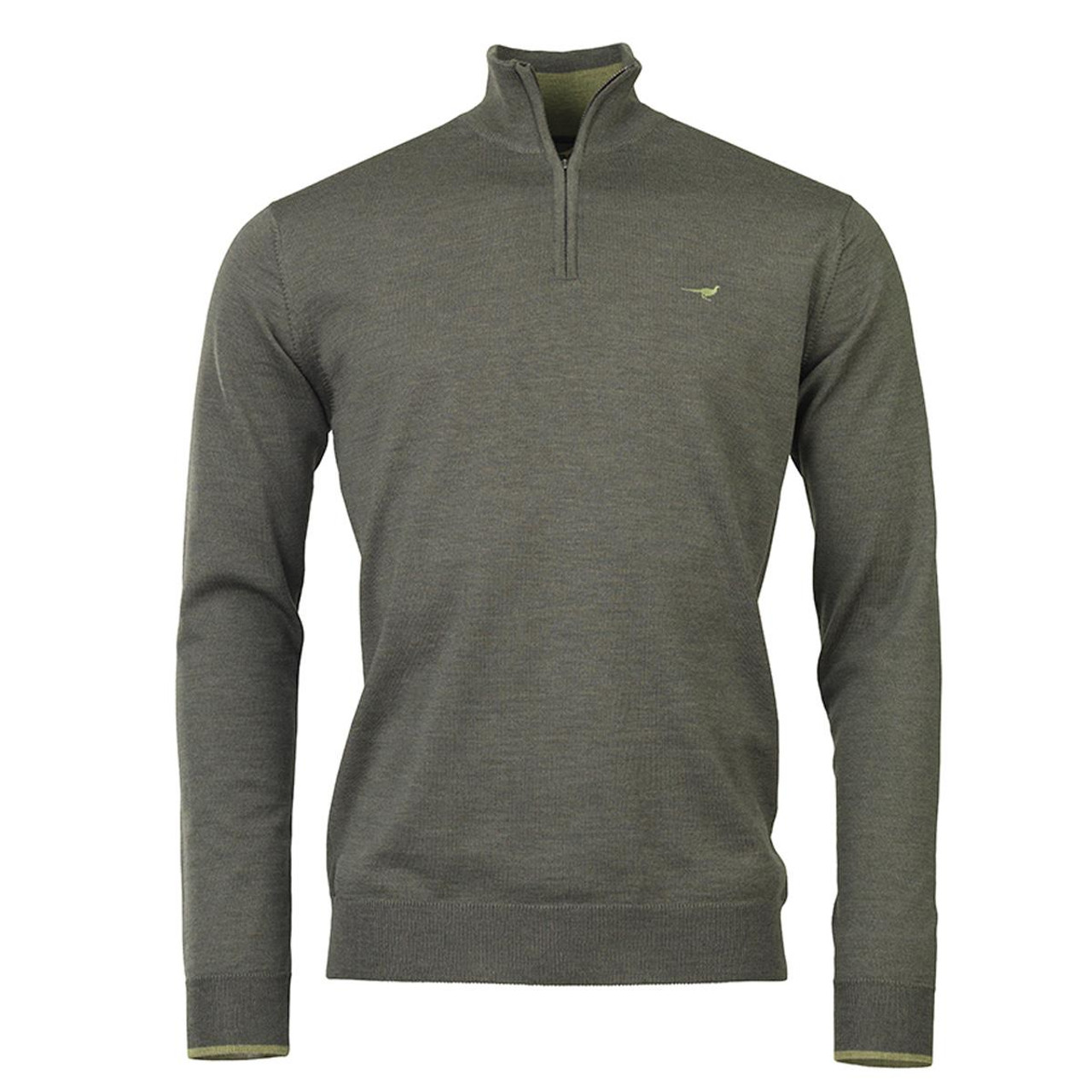 Forest Green Laksen Norfolk 1/4 Zip