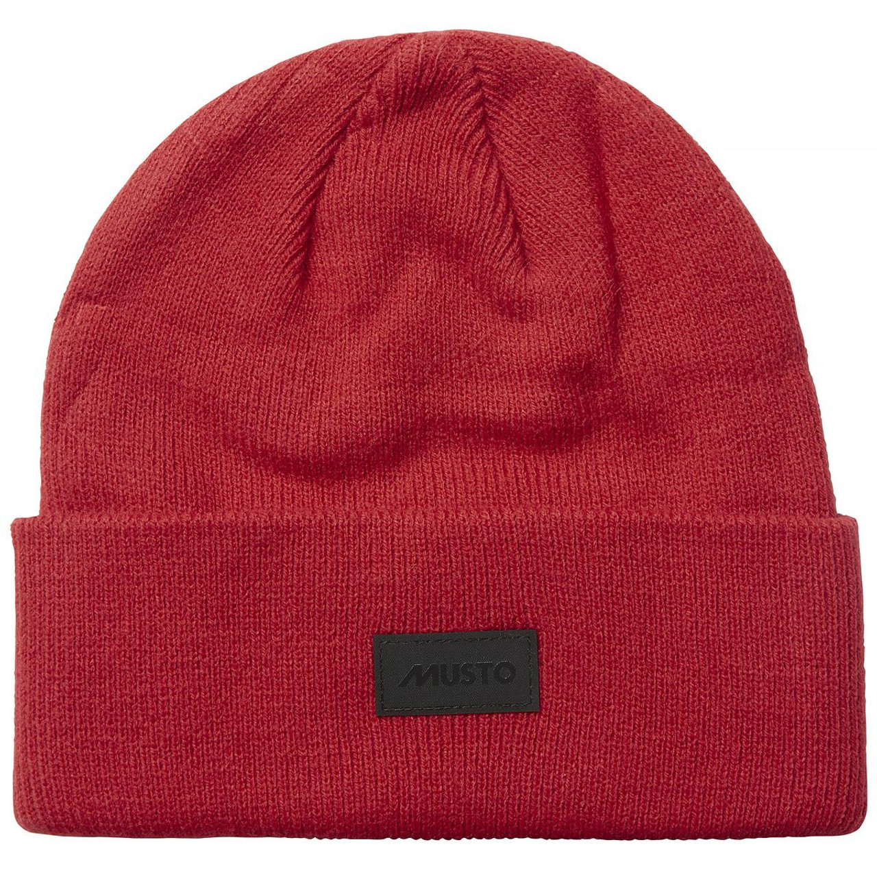 True Red Musto Shaker Cuff Beanie