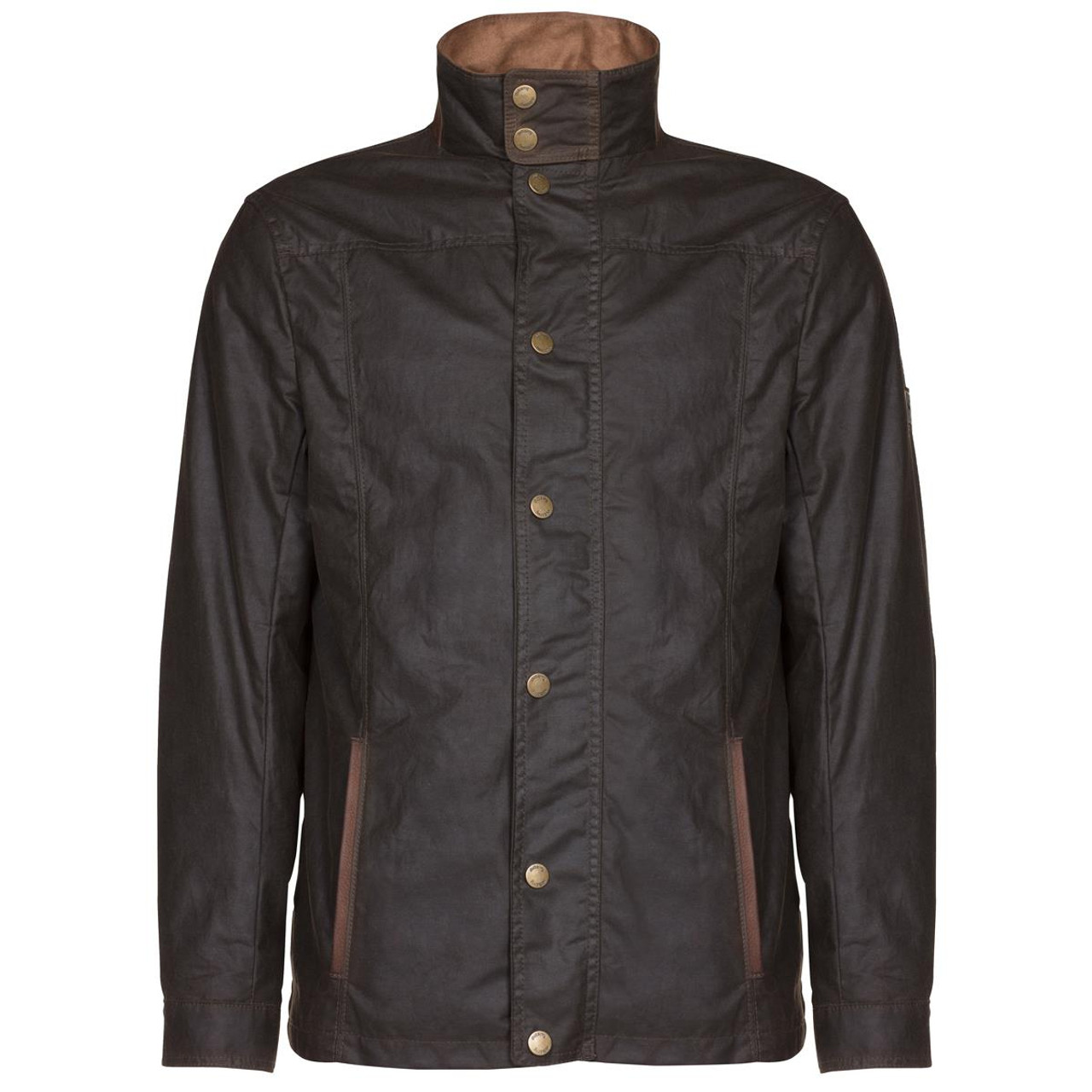 Olive Dubarry Mens Carrickfergus Waxed Jacket