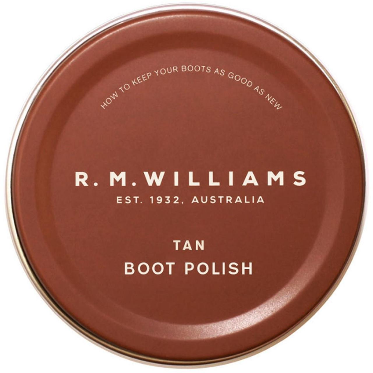 Tan R.M. Williams Stockmans Polish