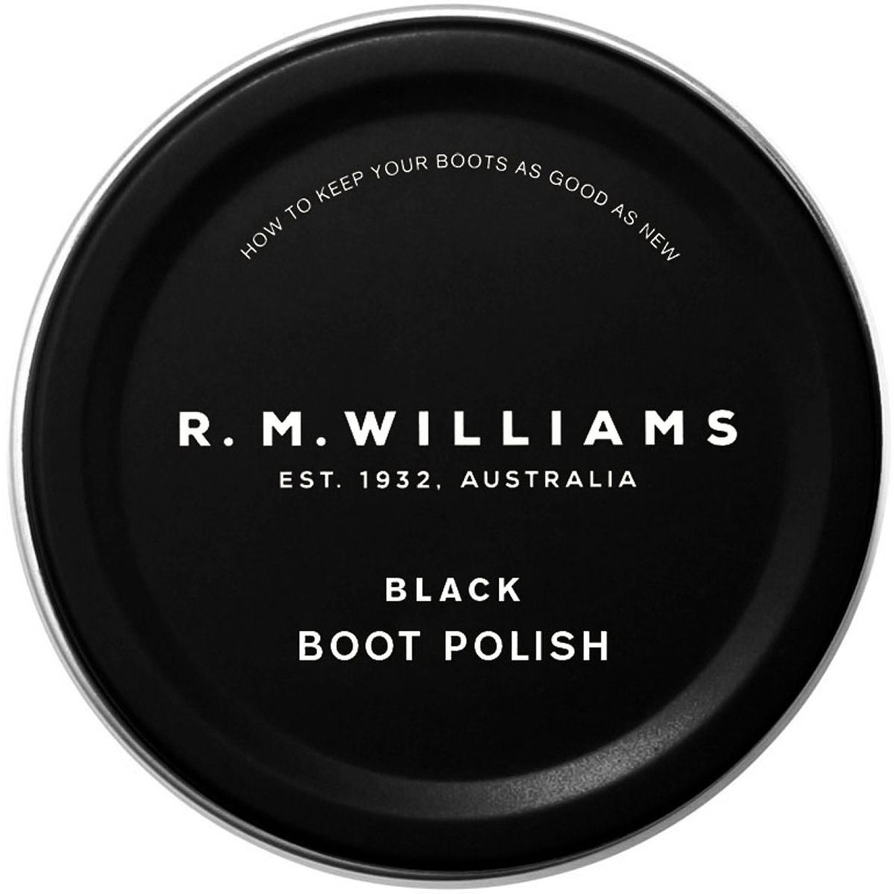 Black R.M. Williams Stockmans Boot Polish