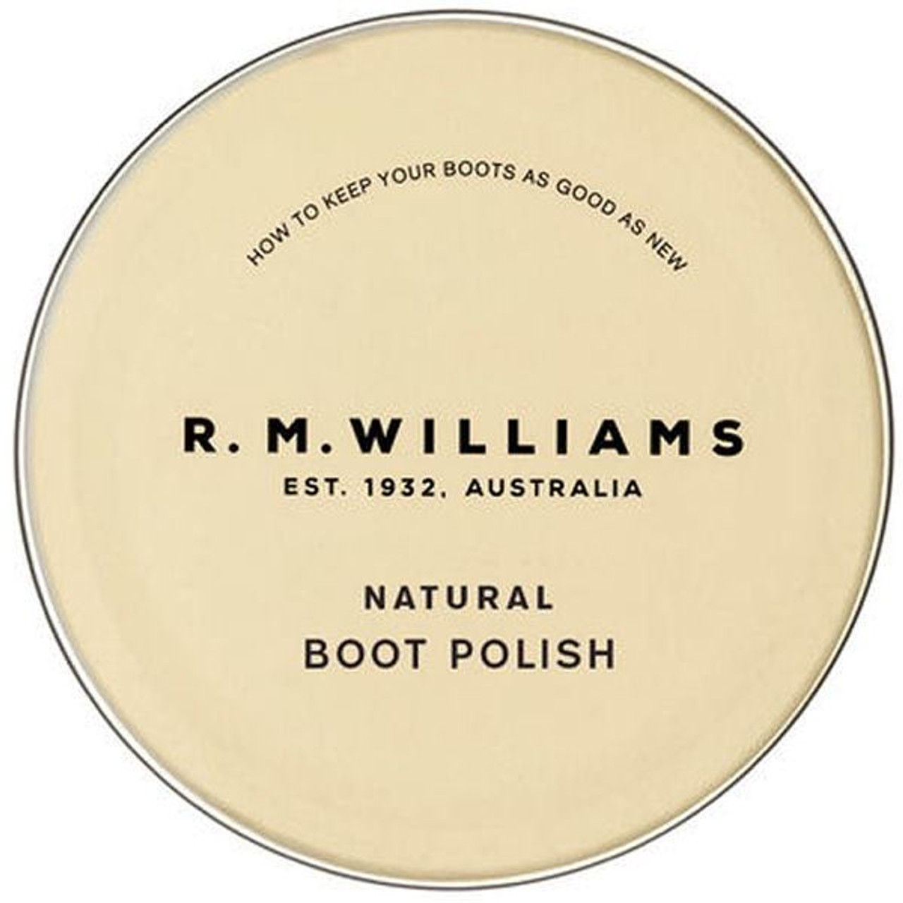 Natural Lustre R.M. Williams Boot Polish