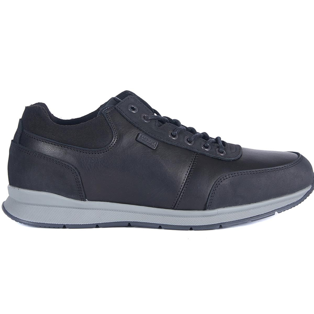 Black Barbour International Mens Chain Shoes Side