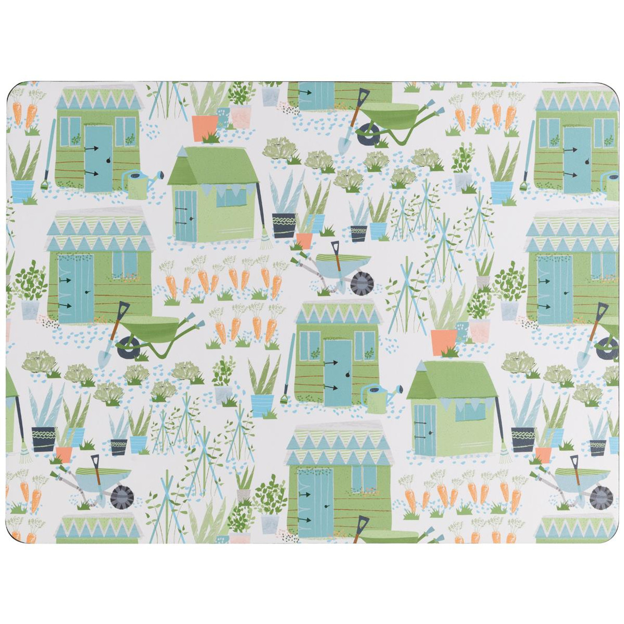 Denby Allotment Set Of 6 Placemats