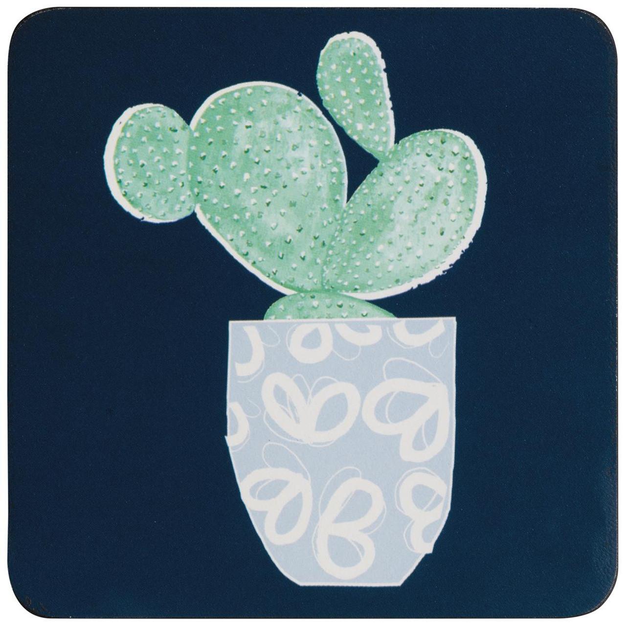 Denby Cacti Set Of 6 Coasters