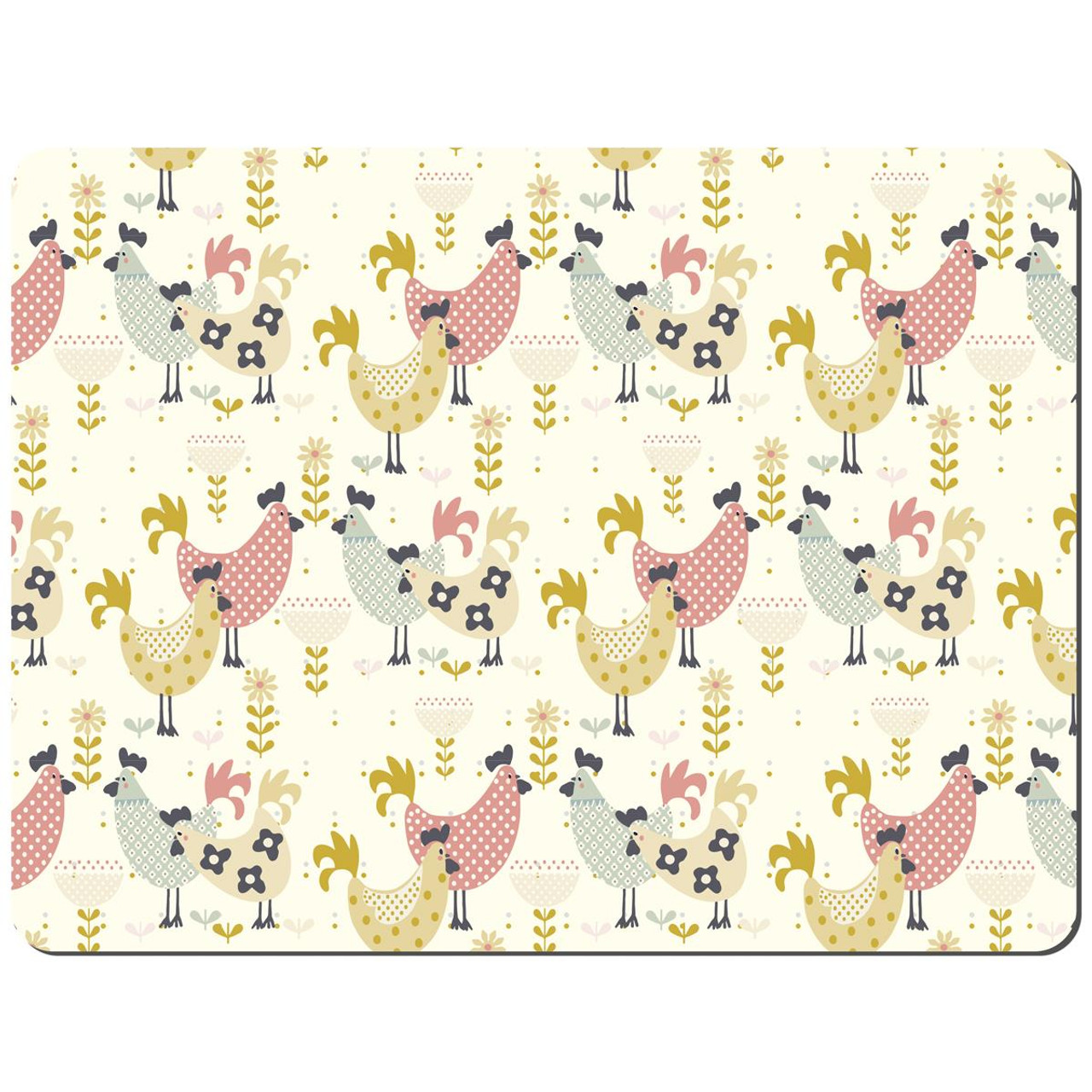 Denby Hens Set Of 6 Placemats