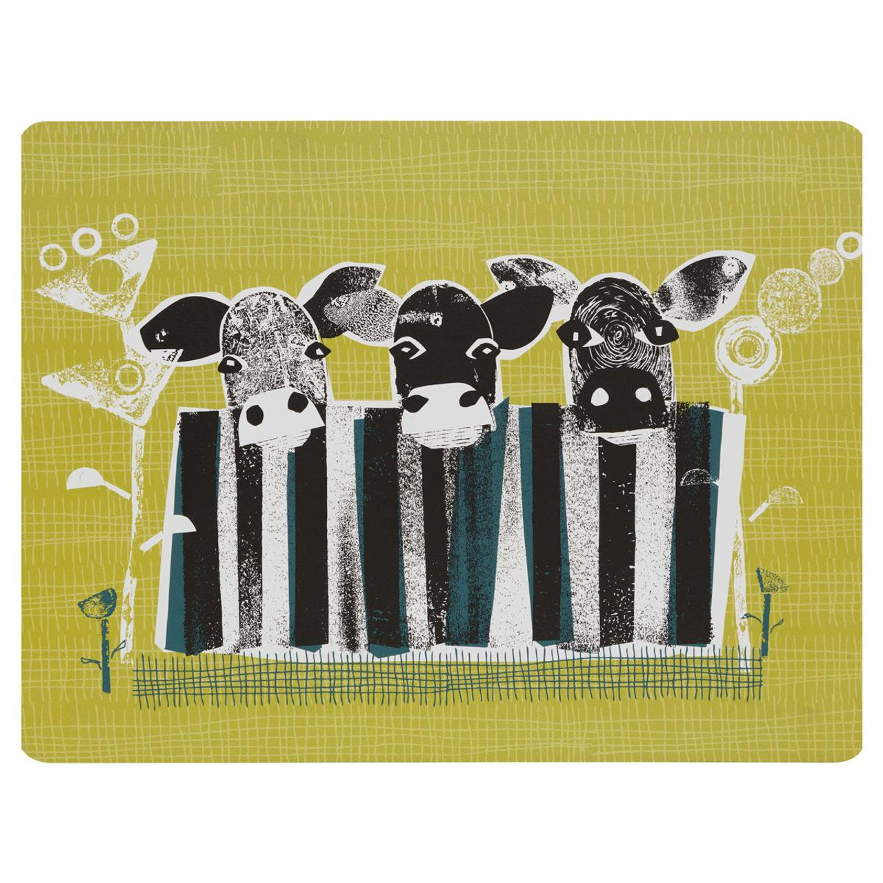 Denby Cow Set Of 6 Placemats