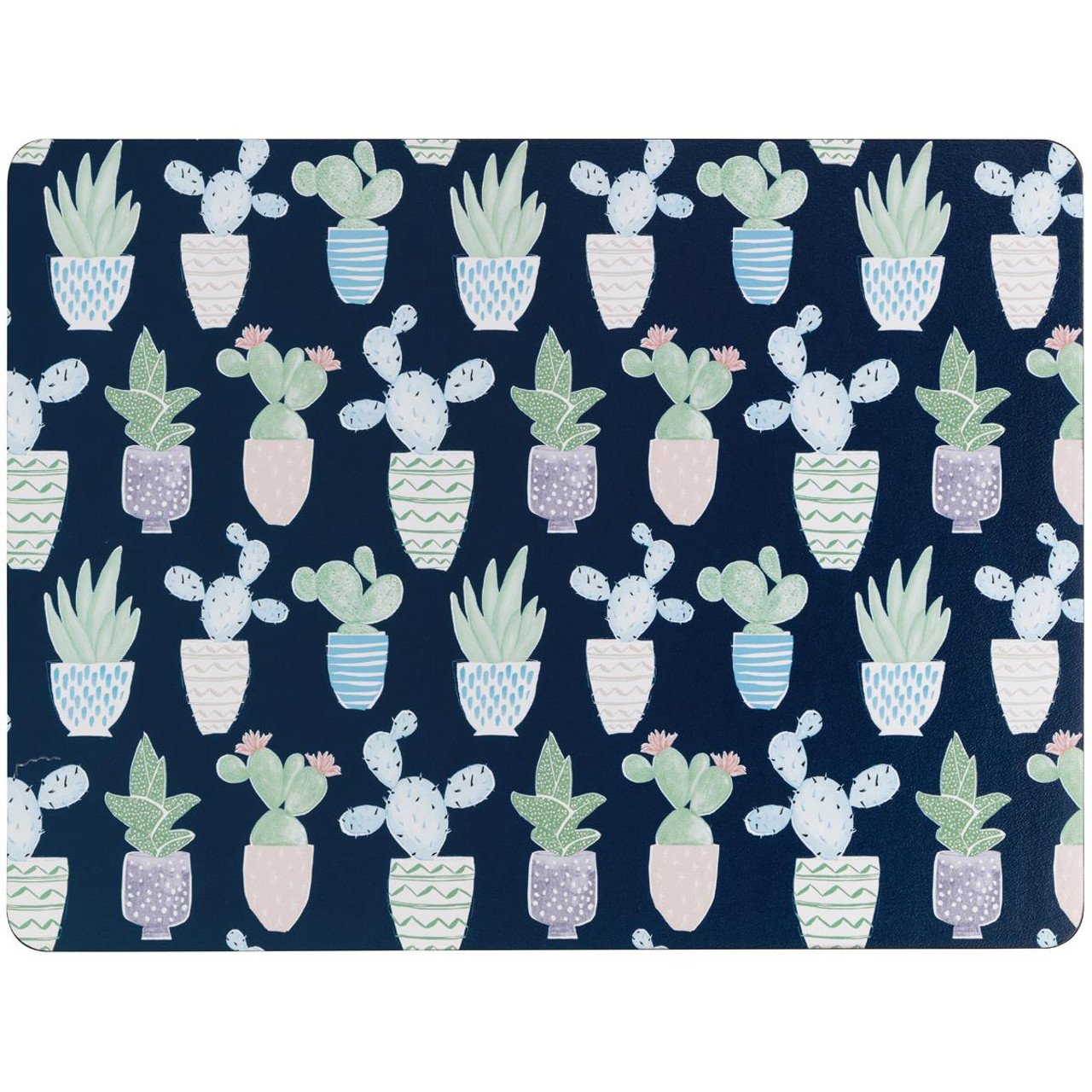 Denby Cacti Set Of 6 Placemats